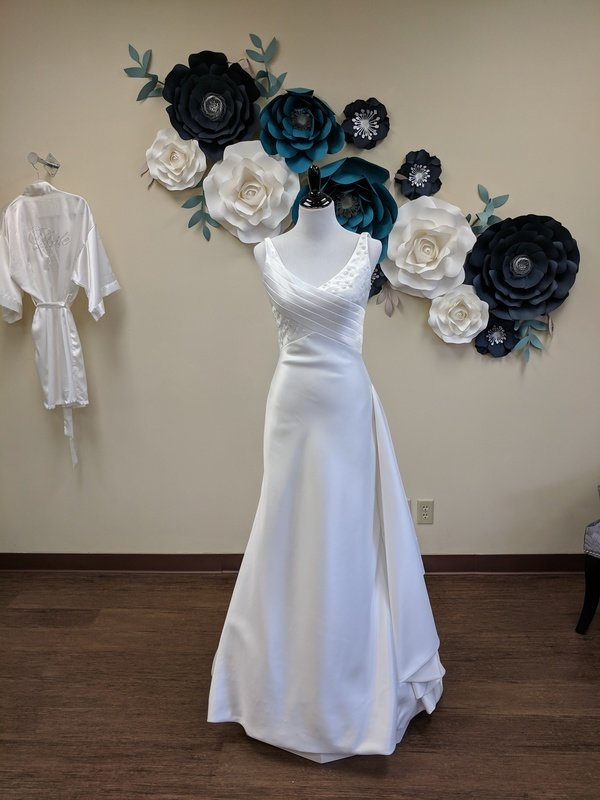 Essence Satin Gown Size 8