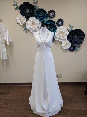 Halter Split Gown Size 10