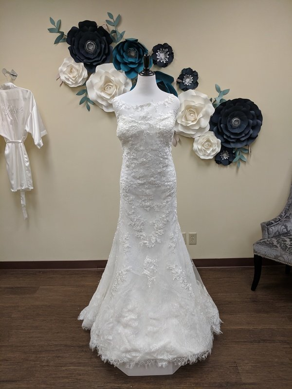 All Lace Fit and Flare Sample Size 24w