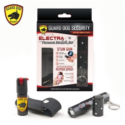ELECTRA PERSONAL SECURITY SET - BLACK