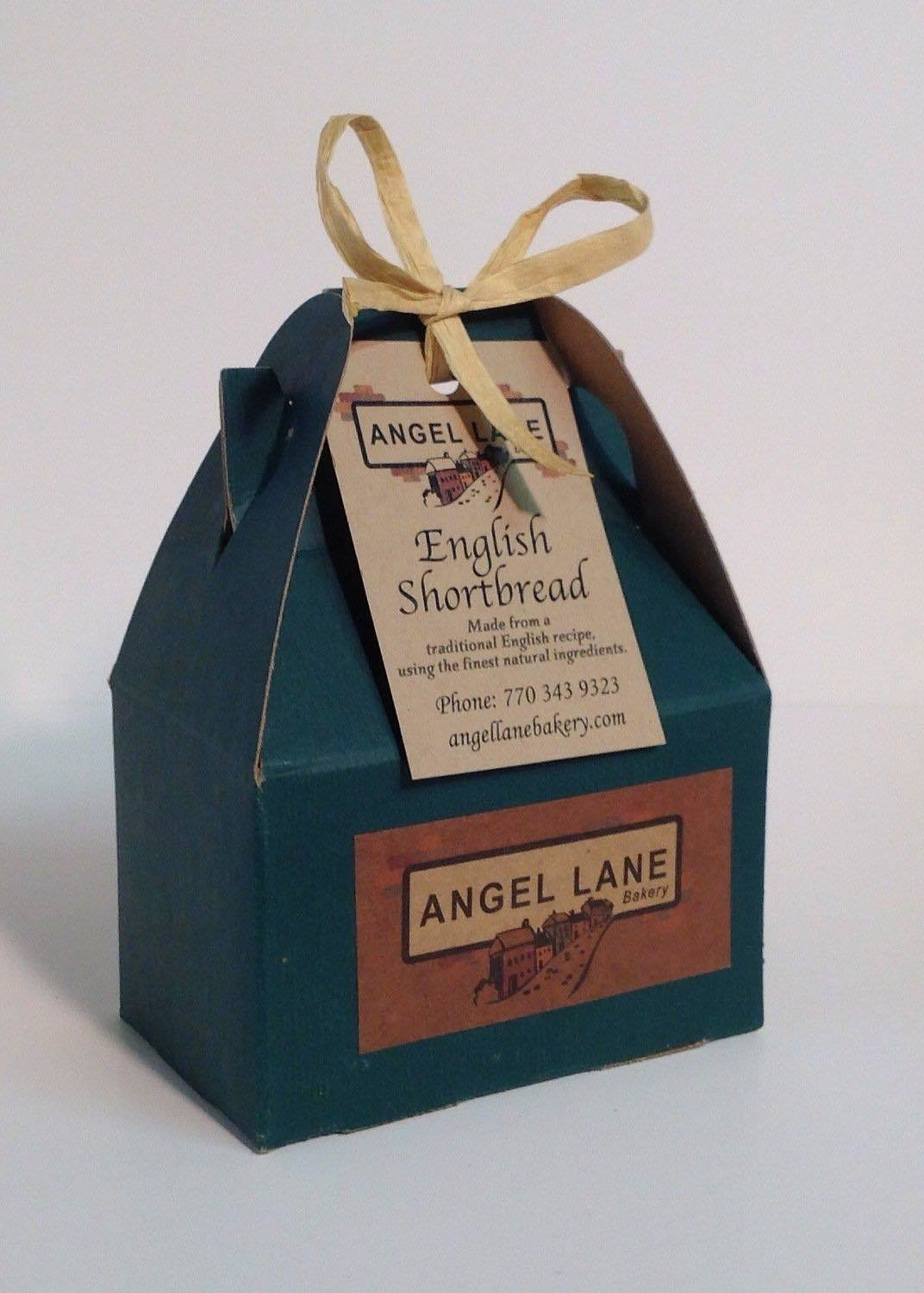 Angel Lane's Finest Shortbread - Four Boxes of 6 Slices/Box