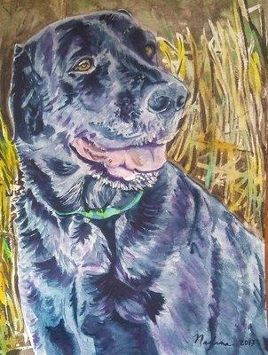 """""""Eeyore""""  Watercolor Giclee Fine Art Print"""
