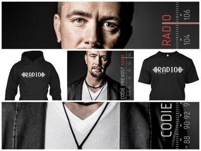 "Hoodie, T-Shirt, & ""RADIO"" Music Bundle (4 Items)"