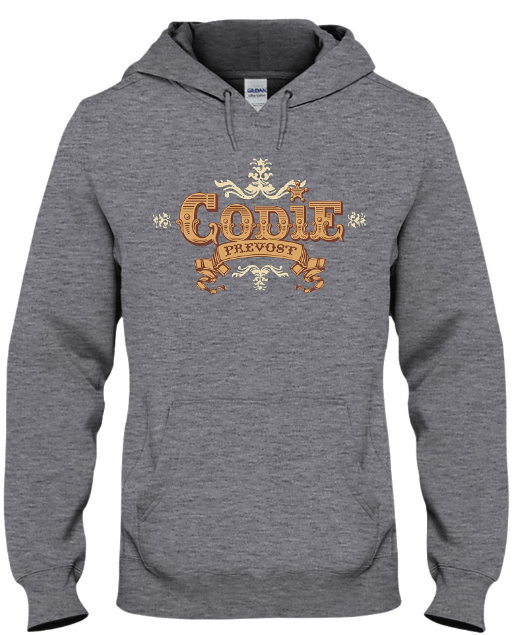 Codie Prevost Logo Hoodie (Available in various colours)