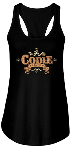 Women's Codie Prevost Flowy Tank Top (Available in various colours)