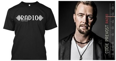 "T-Shirt & ""RADIO"" Music Bundle (3 Items)"