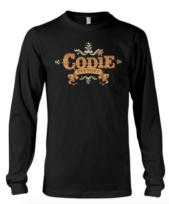 """Long Sleeve Custom """"LOGO"""" Pullover (Available in various colours)"""