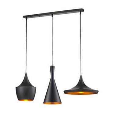 Set de 3 lampes industrielles type Tom DIXON