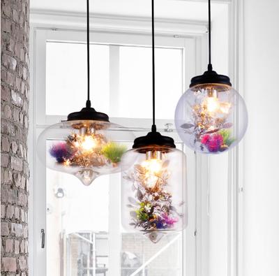 Set de 3 lampes Flowers