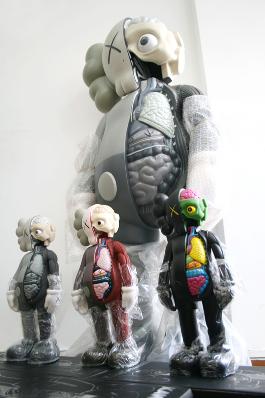 Figurine KAWS Street art - BIG