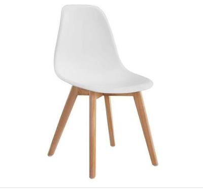 Chaise scandinave Robuste BLANC