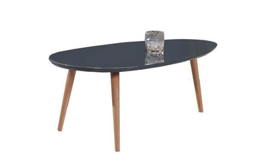 Table gigogne scandinave laquée GRISE