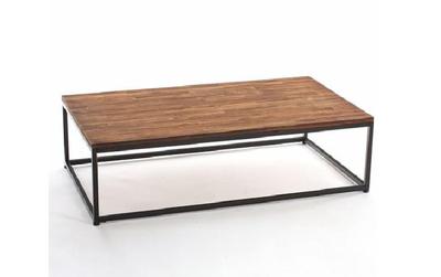 Table basse vintage style industriel ACAS