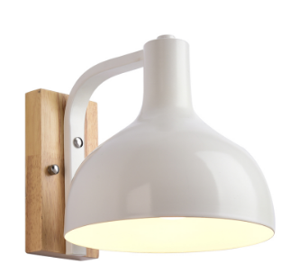 Lampe murale scandinave rounded