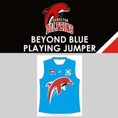 Beyond Blue Jumper Sleeveless