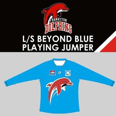 Beyond Blue Jumper Long Sleeve