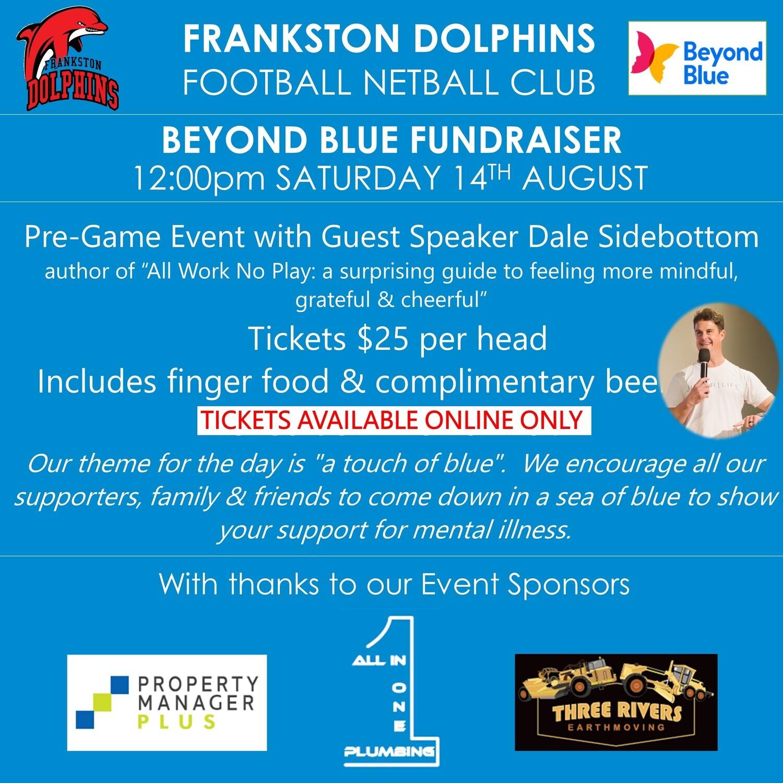 Beyond Blue Fundraiser