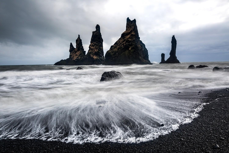 Volcanic towers