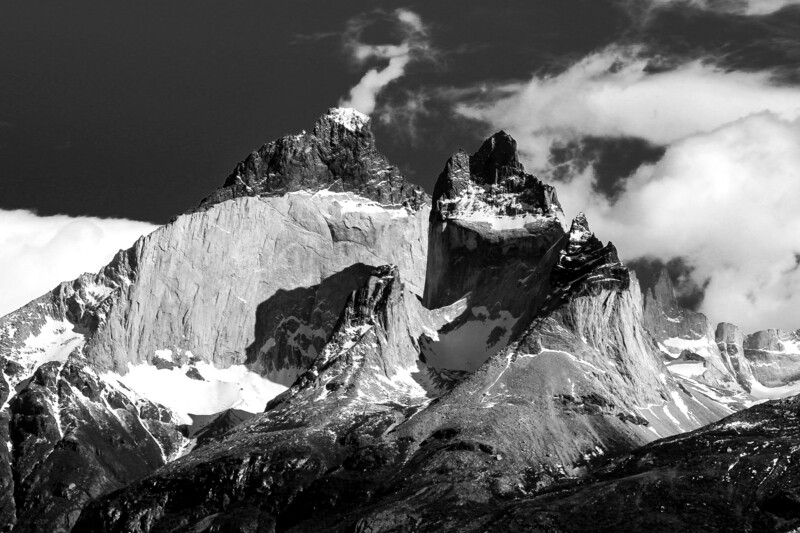 B&W Torres del Paine