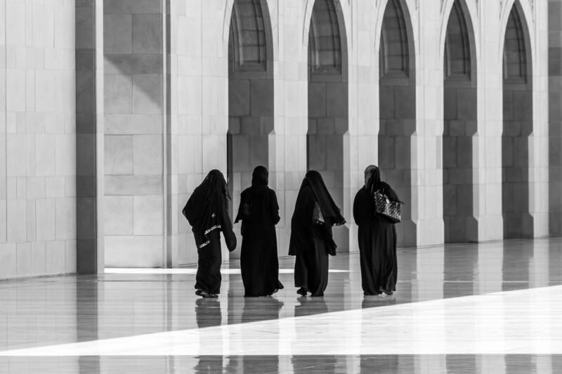 Women in black