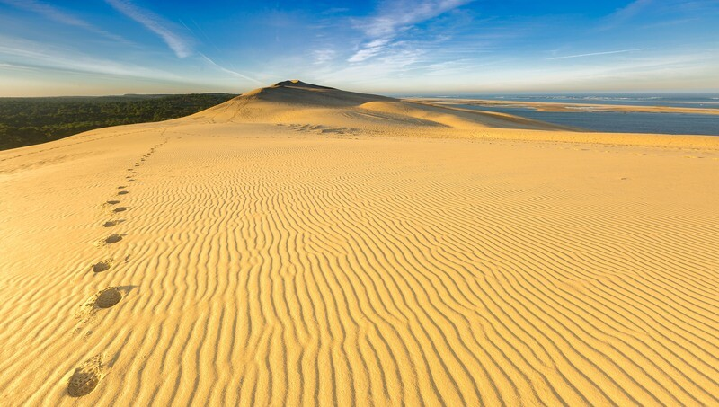 Walking on the Dune