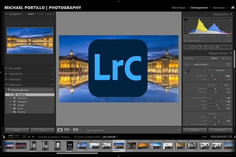 Cours photo privé Lightroom