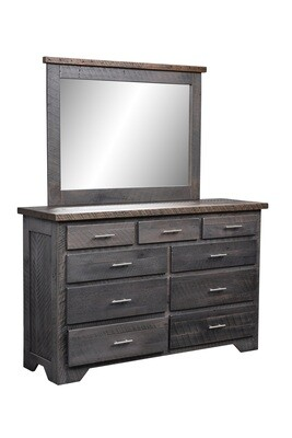 Urban Barnwood London Fog 9 Drawer Dresser