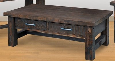 Timber Coffee Table by Ruff Sawn