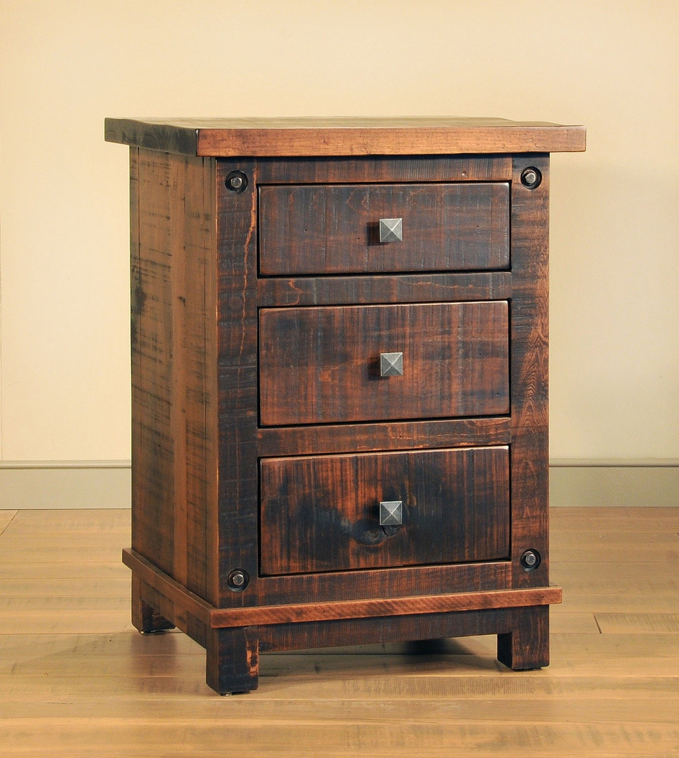 Muskoka Night Stand by Ruff Sawn