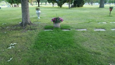 Cemetery grave plot / lot for sale listing