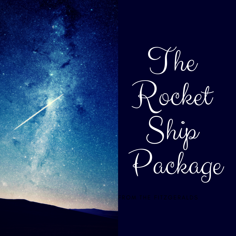 The Rocket Ship Transformation Package - (payment plans available on request)