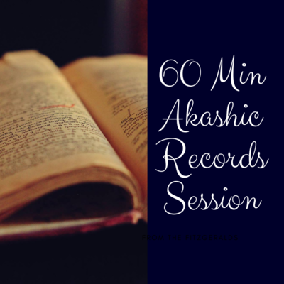 Akashic Records Intuitive Session 60 minutes