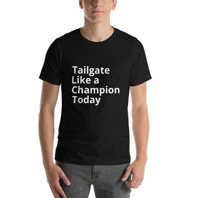 Tailgate Like a Champion Today