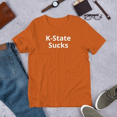 Kansas State University Sucks - Texas T-shirt