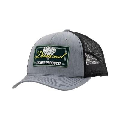 Diamond Fishing Trucker Hat