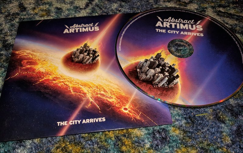 'The City Arrives' CD In Sleeve