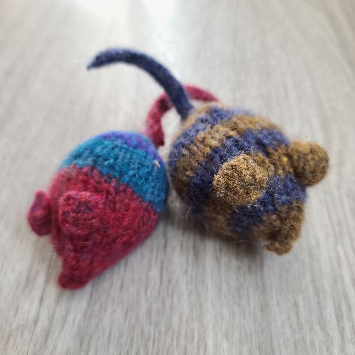Felted Catnip Mouse Cat Toy