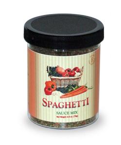 Spaghetti Sauce Jar (3.10 oz.)
