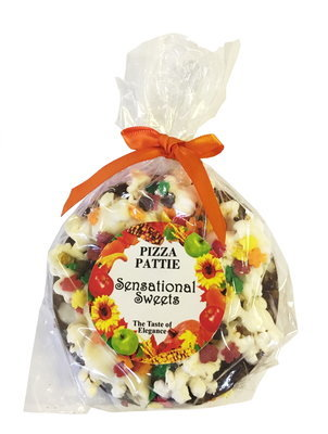 Gourmet Chocolate Pizza Pattie (Fall Label)