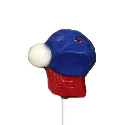 Chocolate Lollipops - Pollylops® - Baseball Cap and Ball