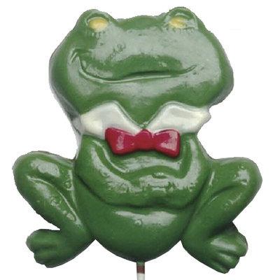 Chocolate Lollipops (Pollylops® Huge Green Frog)