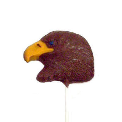 Chocolate Lollipops - Pollylops® - Eagle Head
