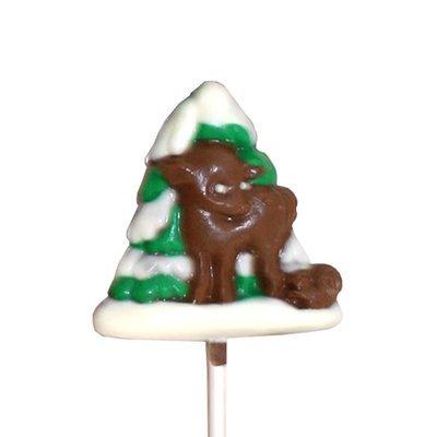Chocolate Lollipops - Pollylops® - Deer Squirrel & Tree