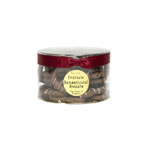 Gourmet Pretzels (1 lb. Tub with Ribbon)