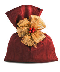 Microwaveable Fudge Sateen Bag Christmas