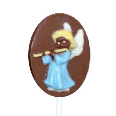 Chocolate Lollipops - Pollylops®) - Angel With Flute