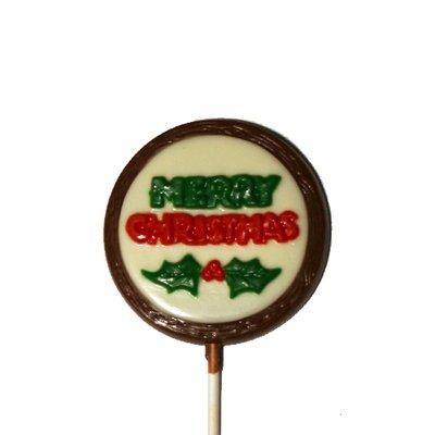 Chocolate Lollipops - Pollylops® - Merry Christmas