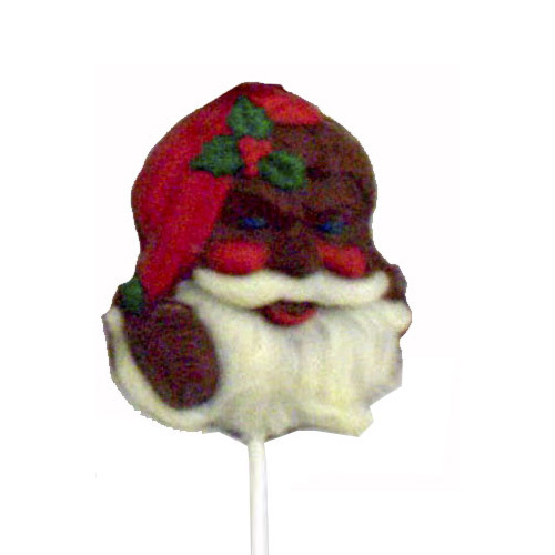 Chocolate Lollipops - Pollylops® - Bearded Santa