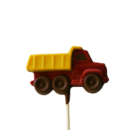 Chocolate Lollipops - Pollylops® - Dump Truck