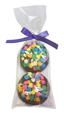 Gourmet Chocolate Dipped Oreo® - 2 Pack - Decorated w/Bow